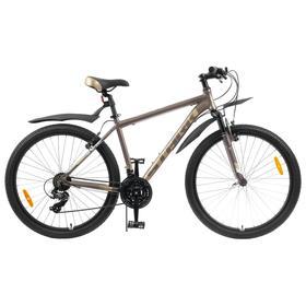"""Велосипед 26"""" Stark Indy 1 V, 2019, цвет коричневый/кремовый/белый, размер 20"""""""