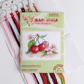 Набор для вышивания «Сочная вишня» 9×11 см