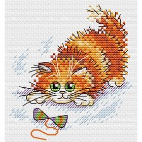 Набор для вышивания «Азартный рыжик» 11×10 см