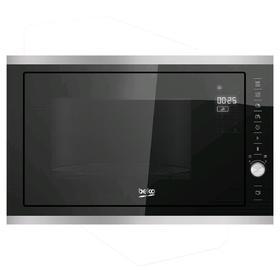 Встраиваемая микроволновая печь Beko MCB 25433 X, 900 Вт, 25 л, таймер, чёрная