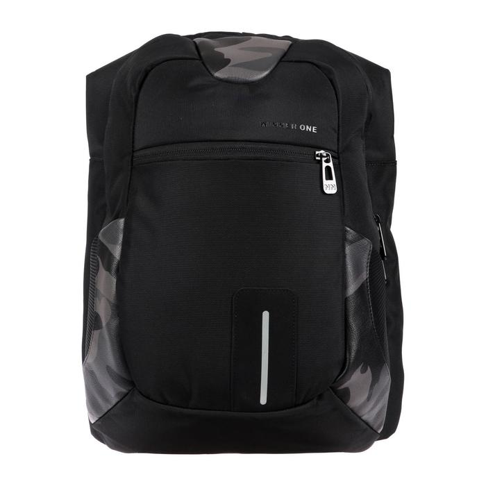 Рюкзак молодежный эргоном.спинка Winner One 43*27*20 перех-к д/USB и наушников, микс 403-5