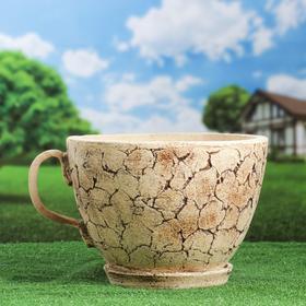 """Горшок для цветов """"Чашка"""" шамот"""