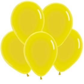 "Шар латексный 12"", кристалл, набор 50 шт., цвет жёлтый"
