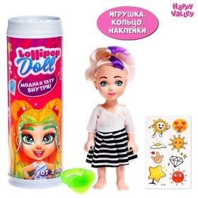 Куколка-сюрприз Lollipop doll с татуировками, МИКС