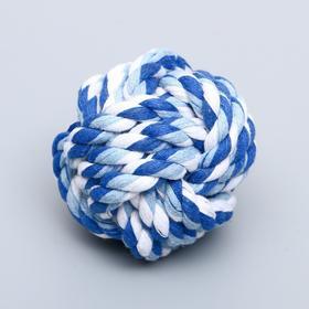 Мячик из каната, 5,5 см, микс цветов
