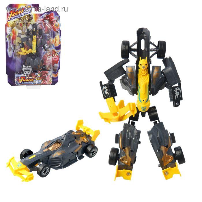Робот-трансформер, цвета МИКС