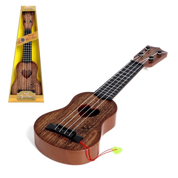 Гитара «Лав», цвета МИКС - фото 106151986