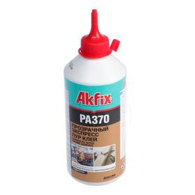 Клей Экспресс Akfix РА370, водостойкий, прозрачный, 500 г