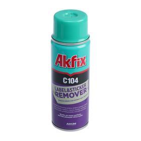 Очиститель наклеек Akfix C104, 200 мл