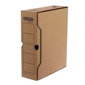 """Короб архивный Bankers Box """"Basic"""" 100x260x312 мм, гофрокартон"""