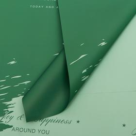 Film 58cm*58cm 50 microns, green