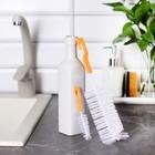Набор ершиков для посуды, 2 шт: 3x13 см, 5,5x23 см, цвета МИКС