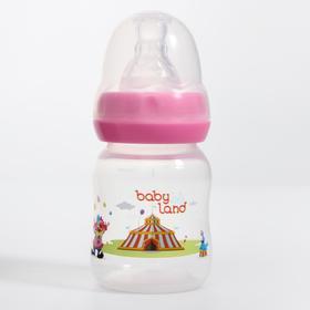 Бутылочка для кормления 80 мл., от 0 мес., классическая, цвет МИКС