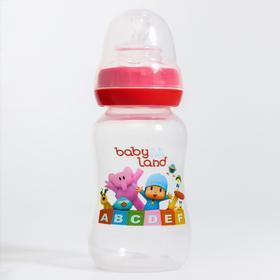 Бутылочка для кормления 150 мл., от 0 мес., ортодонтическая с  клапаном, цвет МИКС