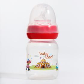 Бутылочка для кормления 80 мл., от 0 мес., ортодонтическая, цвет МИКС
