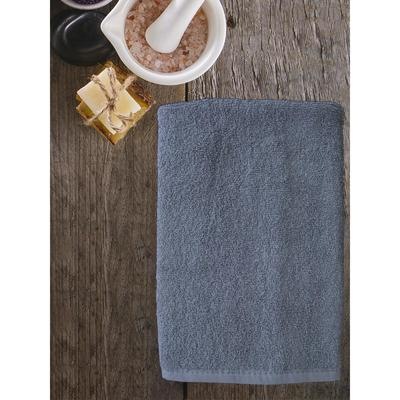 Полотенце ast cotton, размер 50 × 85 см,  серый