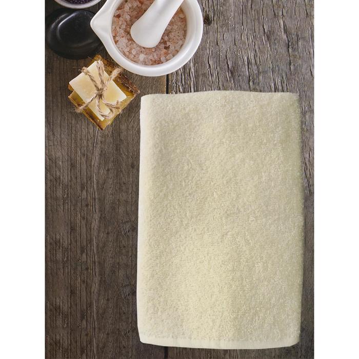 Полотенце ast cotton, размер 65 × 130 см,  молочный - фото 7929769