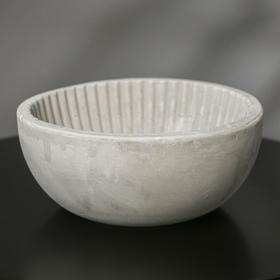 {{photo.Alt || photo.Description || 'Кашпо круглое из гипса «Эстетика», цвет серый, 20 × 8.5 см'}}