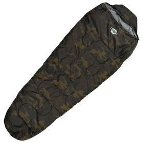 Спальный мешок туристический Novus Camo, 225 x 80 x 55  см, 250 г/м2, 0 C   4420801