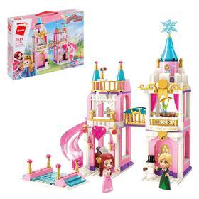 Конструктор Принцессы «Замок для принцессы», 2 минифигуры и 405 деталей