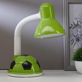 Лампа настольная СНО МЯЧ-KIDS на основании 60Вт E27 зеленый