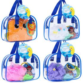 A set of bath toys in a bag, MIX
