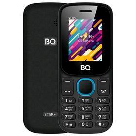 Сотовый телефон BQ M-1848 Step+ 1,77', 32Мб, microSD, 2sim, Bluetooth, чёрно-голубой Ош