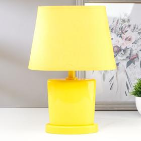 Лампа настольная 03000 1хЕ14 15Вт желтый 20х28,5х11 см