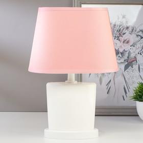 Лампа настольная 03000 1хЕ14 15Вт розовый 20х28,5х11 см
