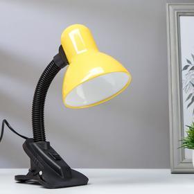 Лампа на прищепке светодиодная  8Вт LED 750Лм 14xSMD2835 шнур 1,5м желтый