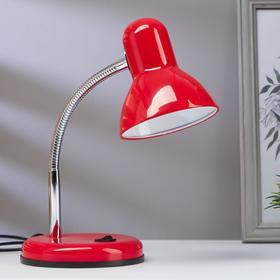 Лампа настольная светодиодная 8Вт LED 750Лм 14xSMD2835 шнур 1,5м красный