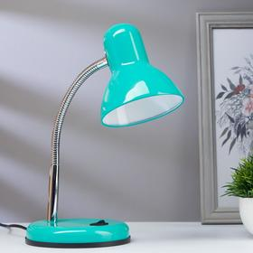 Лампа настольная светодиодная 8Вт LED 750Лм 14xSMD2835 шнур 1,5м зеленый