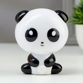 Ночник светодиодный Панда 4х0,25Вт LED черный