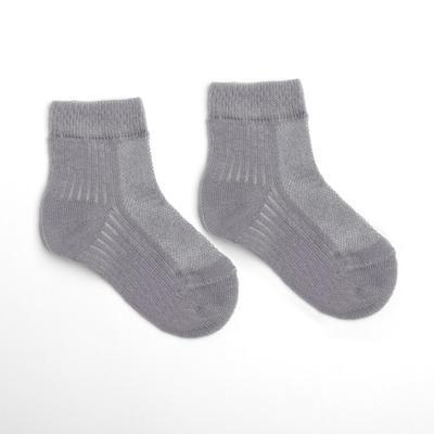 Носки детские, цвет серый, размер 16