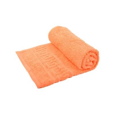 Towel size 40 × 70 cm, color coral