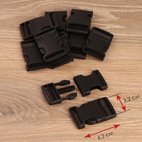 Fastex is 6.2*3.7 cm 3.2 cm EXT (neb 10pcs price for neb) black