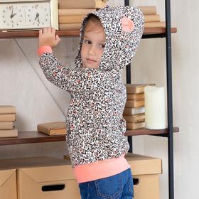 Толстовка для девочки WILDCAT, цвет серый рост 98 см
