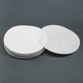 Фильтры d 125 мм, белая лента, марка ФС, средней фильтрации, набор 100 шт