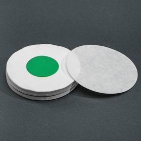 Фильтры d 125 мм, зелёная лента, марка ФММ, очень медленной фильтрации, набор 100 шт