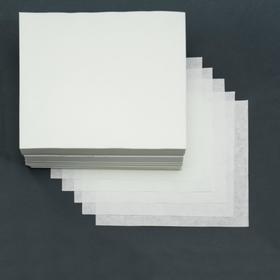 Бумага фильтровальная ФС-3 средней фильтрации, 200х200 мм, пачка 1 кг