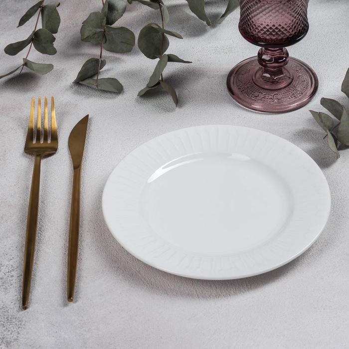 Тарелка пирожковая GOURMET, 16,8×1,5 см - фото 666834