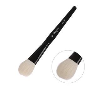 Brush Goat Oval Watercolor No. 20 b-20mm L-34mm short handle (black enamel)
