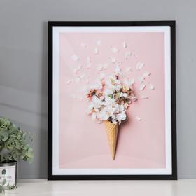 """Poster plastic """"cones"""" 40x50 cm"""