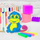 "Toy-coloring ""Monkey""(without the markers) in the package"