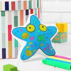 """Toy-coloring """"starfish"""" (without the markers) in the package"""