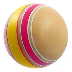 Мяч диаметр 100 мм, Эко, ручное окрашивание