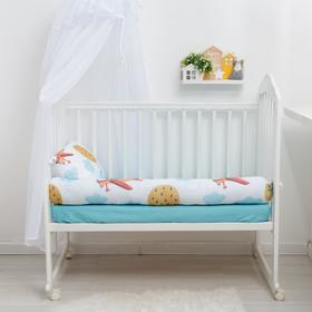 """Pillow-side """"Baby I"""" Aviator 15х120 cm, 100% cotton"""