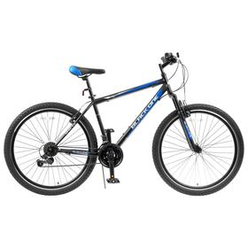"""Велосипед 27.5"""" Black One Onix, цвет черный/синий/серый, размер 18"""""""