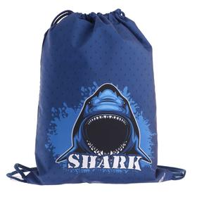 Мешок для обуви, 420 х 340 мм, «Оникс», МО-20, Shark