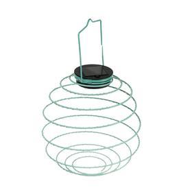 """Садовый светильник ЭРА, """"Спираль"""", подвесной, на солнечной батарее, 22 см"""